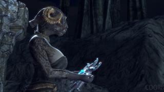 The Elder Scrolls: Azura Masturbate with a weird toy