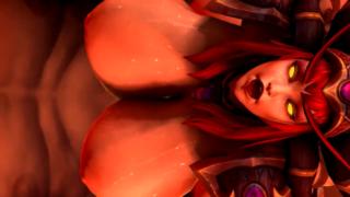 World of Warcraft: Alexstrasza fucked by orcs