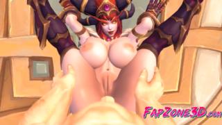 World of Warcraft: Compilation of dark elves