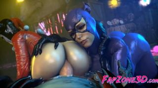 Dc Comics: Female villains make porn