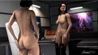 Mass Effect: Shepard and Miranda play together