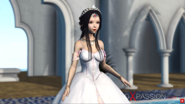 3d x Passion: Petite princess and the ugly goblin